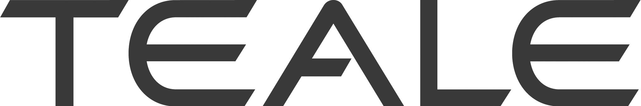 Teale logo B&W