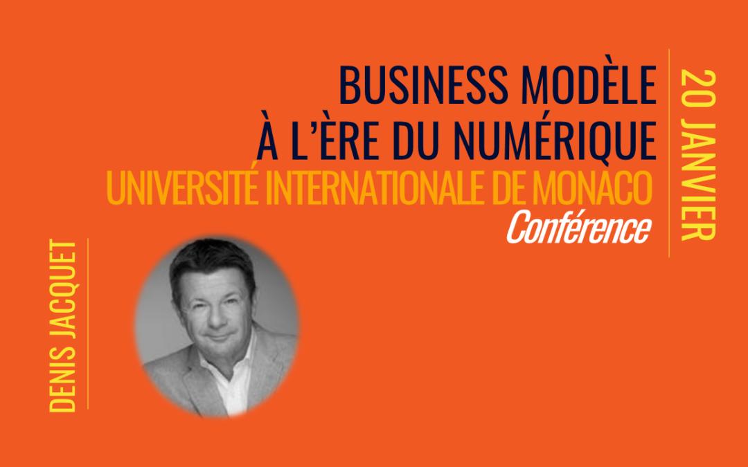business modèle numerique