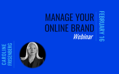 Manage your online brand