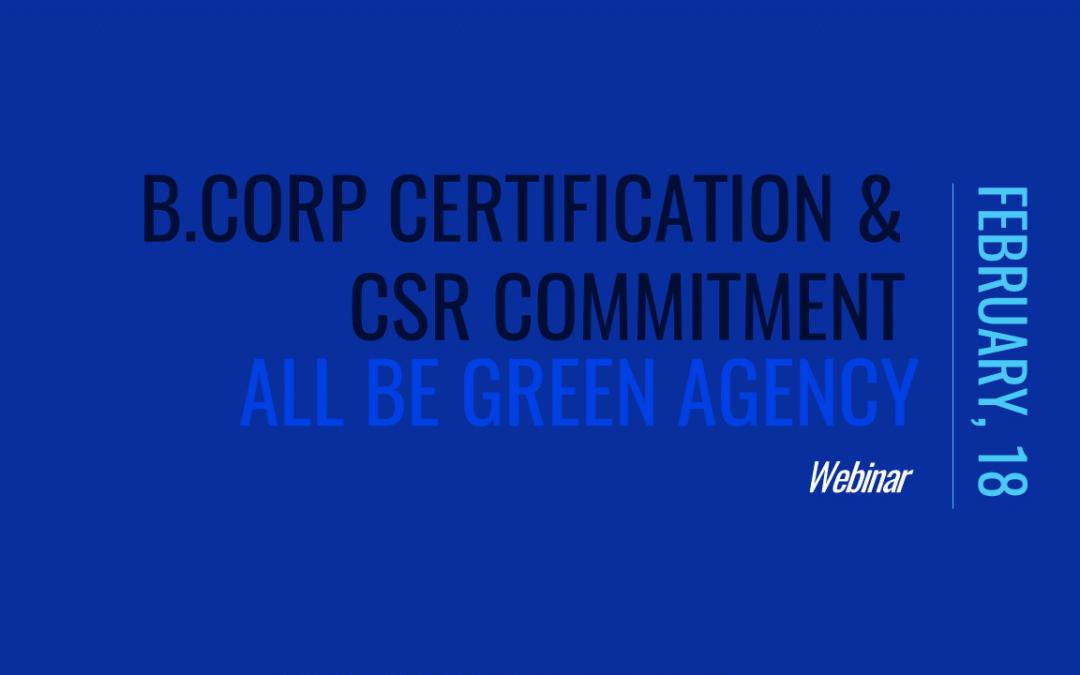 B-Corp & CSR