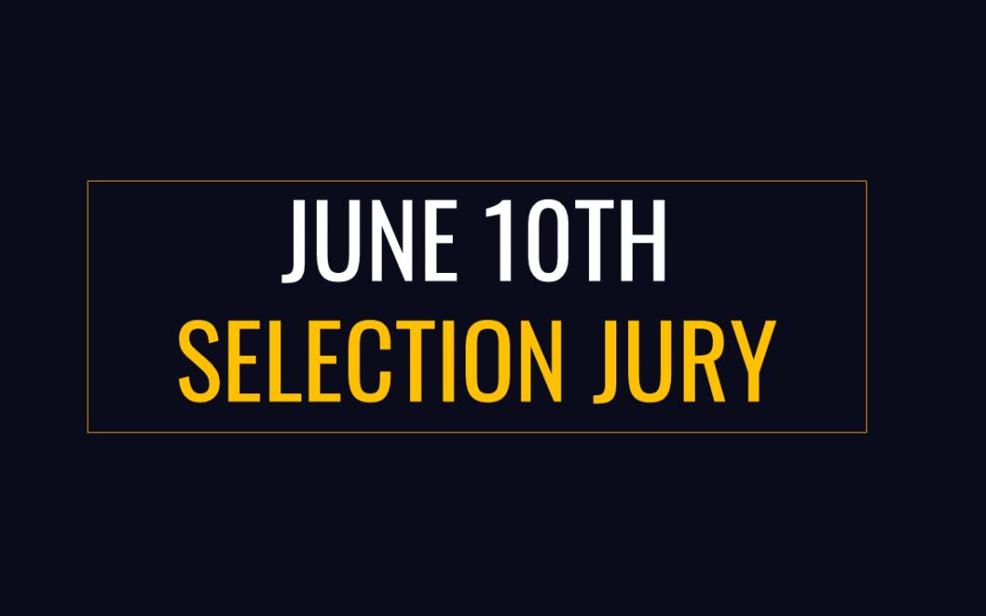 Introducing Jury Members Selection 2021